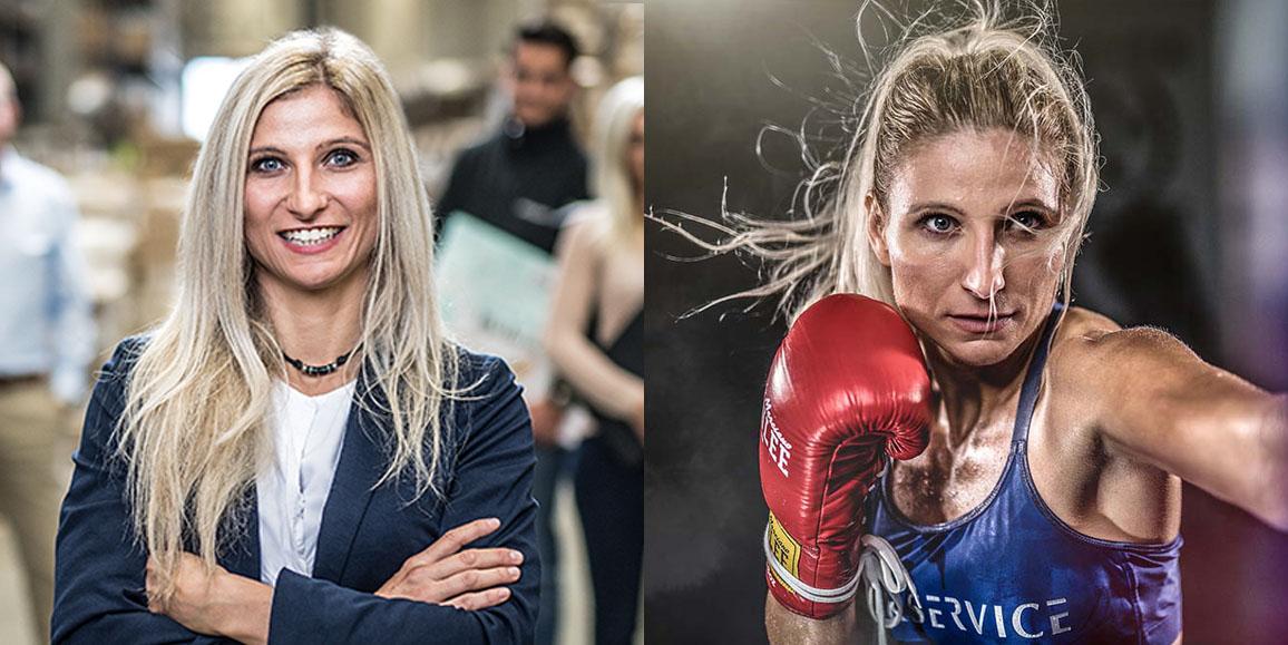 Melanie Zwecker ist eine zielstrebige Boxerin, die in der Federgewichtsklasse schon zahlreiche, professionelle Kämpfe bestritten hat.